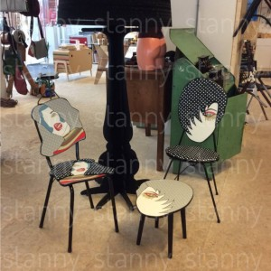 chairs and table at face value